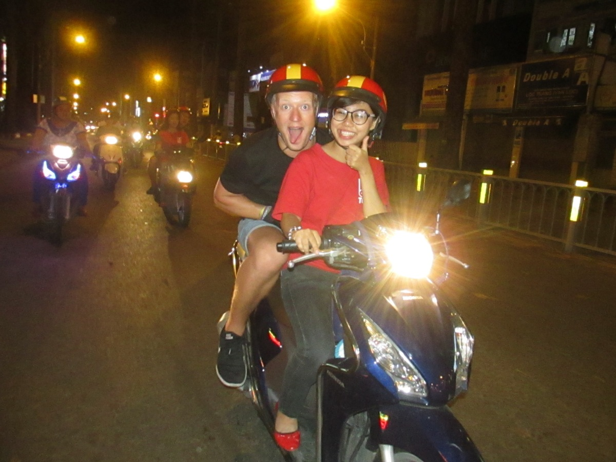Street food tur i Ho Chi Minh City